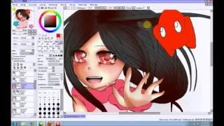 Coloring Katsuki In Paint Tool Sai