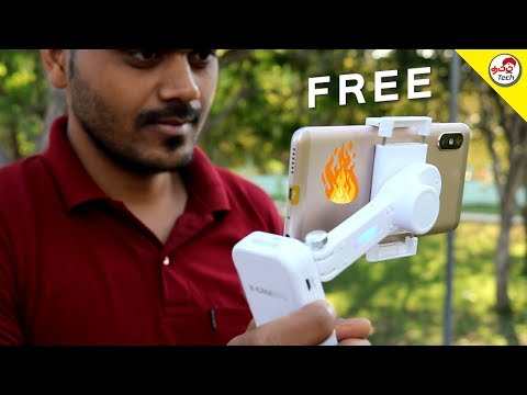 Cheapest Gimbal at Rs.2500/- Review + Giveaway | Tamil Tech