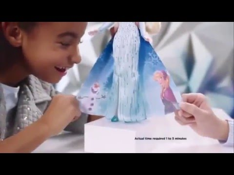 Disney Frozen - Elsa's & Anna's Magical Story Cape - Hasbro