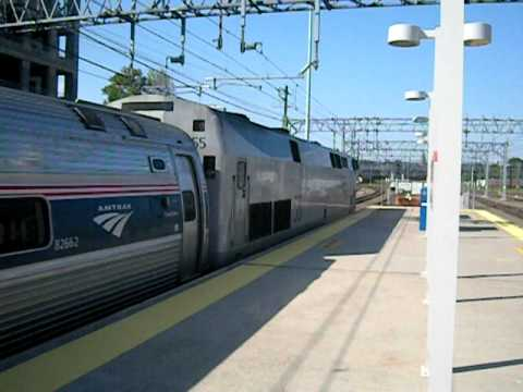 Amtrak Shuttle #488 departs New Haven