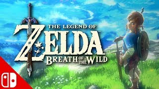 LEGEND OF ZELDA BREATH OF THE WILD! Nintendo Switch