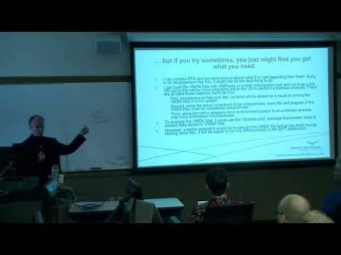 Linux File System Forensics -  Gary Smith from Pacific Northwest National Laboratory