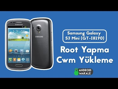 Samsung Galaxy S3 Mini (GT-I8190) Root Yapma ve Cwm Recovery Yükleme