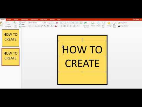 HOW TO CREATE A BANNER USING POWERPOINT