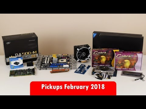 Pickups February 2018