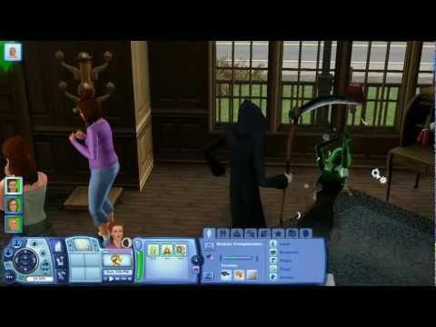 The Sims 3 Supernatural - Haunting Curse Death