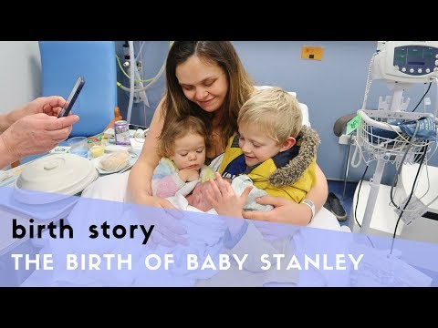 MY LABOUR & BIRTH STORY - NATURAL HOSPITAL BIRTH WITH NO PAIN RELIEF