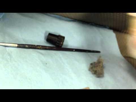 Cigarette burn repair.