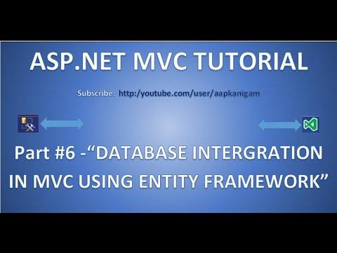 Part 6 - ASP.NET MVC  Database Connection Using Entity Framework | Connect to SQL Server database
