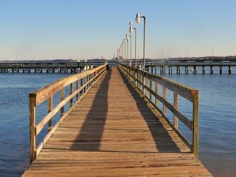Gloucester Point Beach Fishing Pier
