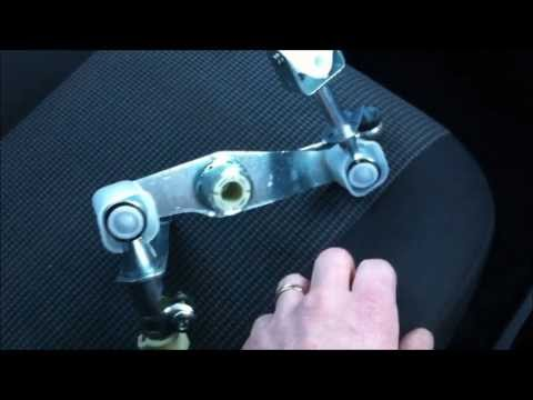 How To - Fix Vauxhall / Opel Gear Box Linkage Fault, Repair Replace And Set Up