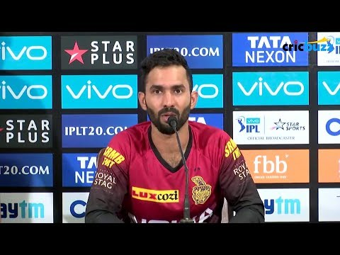 I will be looking to stay as calm as I can as captain - Dinesh Karthik