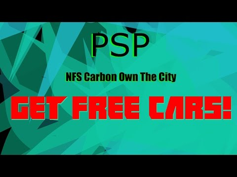 Free Car Glitch  |  Easy To Do  |  Need For Speed Carbon [Own The City]  |  PSP Games  |