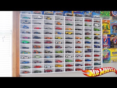 My Hot Wheels Car Display Case! (Loose Car Collection)