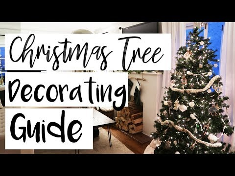 6 Ways to Make Your Christmas Tree Look AMAZING!