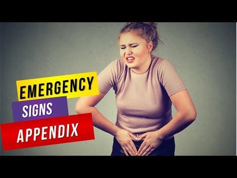 6 Emergency Signs of an Appendix About to Burst