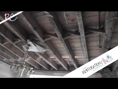 Removing an Old Lathe and Plaster Ceiling