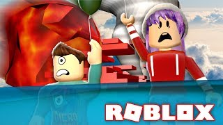 Download METEOR FLOOD TORNADO IN ROBLOX!!! | Natural Disaster Survival w/ RadioJH Games! Video