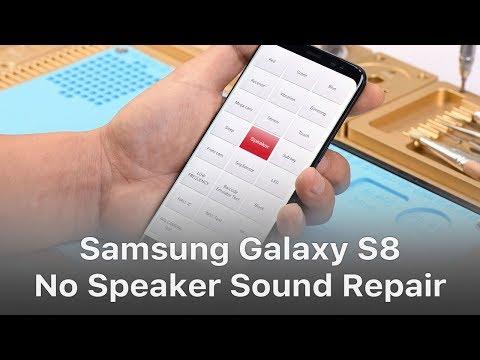 Samsung Galaxy S8 No Speaker Sound Logic Board Repair