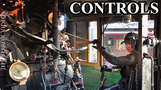 Steam Locomotive Controls [4K]