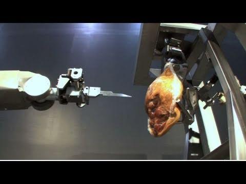 Automatic Ham Boning Robot - Mayekawa HAMDAS-R : DigInfo