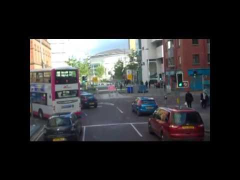 A Drive Through Belfast City in Northern Ireland