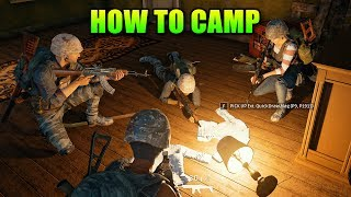 How To Camp Like A Pro   PlayerUnkown