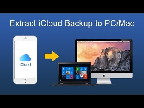 How to extract iCloud Backup to Recover iPhone 7 Photos, Messages, Contacts, Notes?