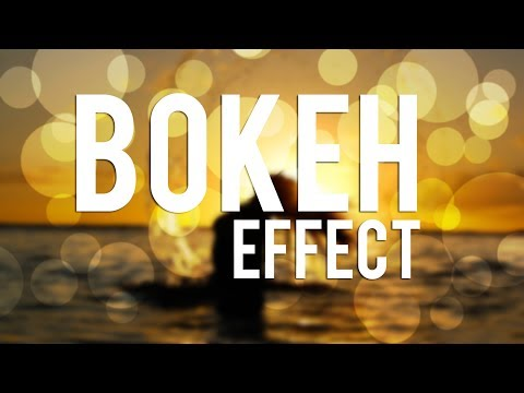 Photoshop Tutorial : Bokeh Effect