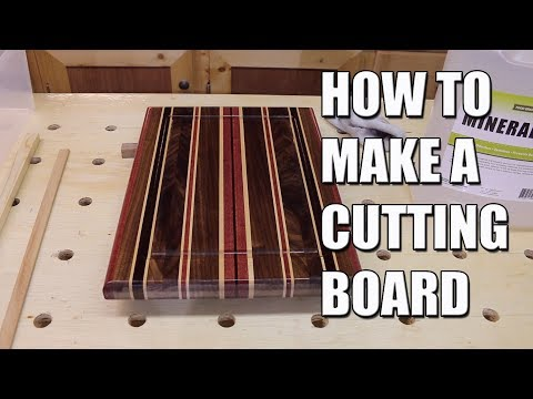 How to make a Cutting Board -- Mother's Day Gift Idea