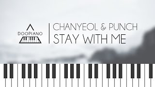 Goblin Ost  Chanyeol  Punch  Stay With Me Piano Cover