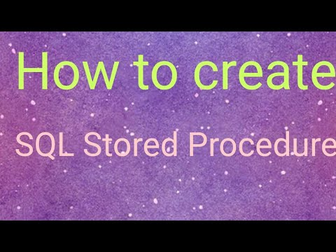 How to implement Conditional stored procedure in ms sql server | create conditional stored procedure