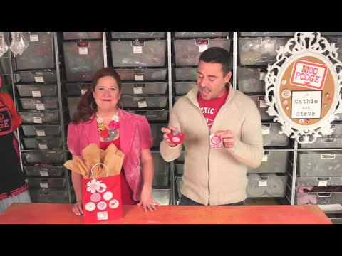 15 Fun Holiday Crafts featuring Mod Podge with Cathie and Steve