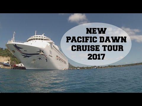 P&O PACIFIC DAWN 2017 NEW    CRUISE TOUR