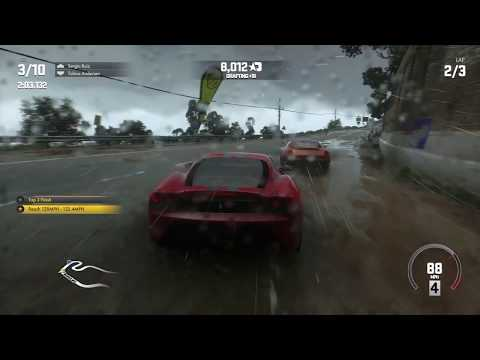 DRIVECLUB™ weather effects. PS4 pro.