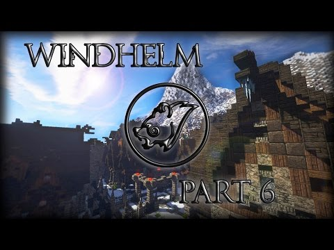 Windhelm: Hjerim & House of Clan Cruel Sea (Time Lapse)