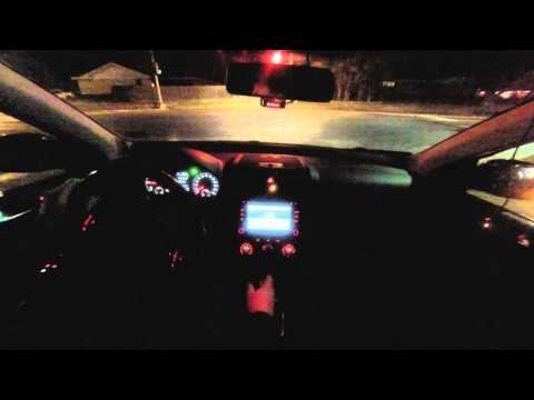 2010 Volkswagen Jetta TDI 6spd 0-60 + Road Test (Night)