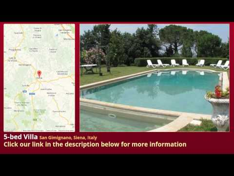 5-bed Villa for Sale in San Gimignano, Siena, Italy on italianlife.today