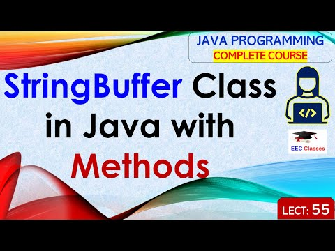 StringBuffer Class in Java with Example in Hindi and English