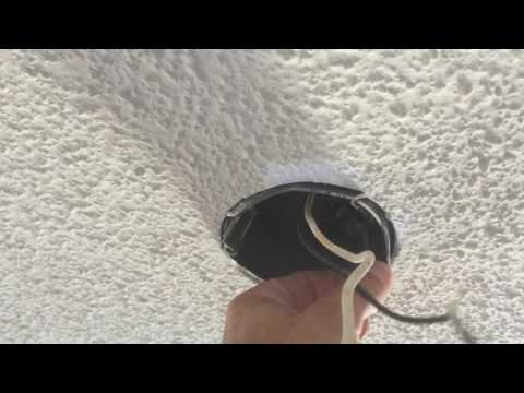 Plastic Electrical Ceiling Boxes + ceiling fan