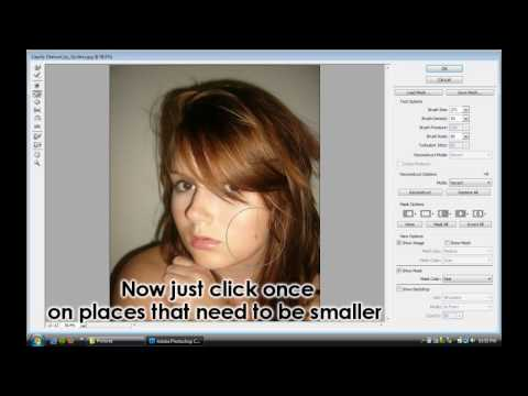 Photoshop Tutorial - Make Face Thinner