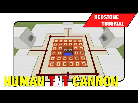 Human TNT Cannon