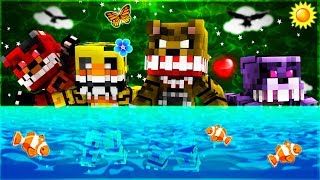 Minecraft - FNAF Twisted Ones - NIGHT 1!