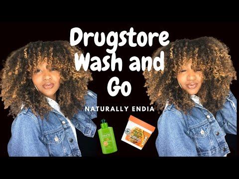 CHEAP| Curly Hair Wash & GO| under 20$