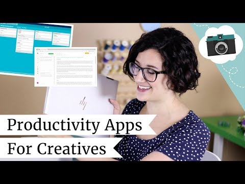 How I Plan and Organize My Channel + Etsy Shop | Productivity Apps for Creatives | @laurenfairwx