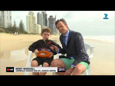 2018 NAB AFL Auskicker of the Year – Rd 4 Nominee