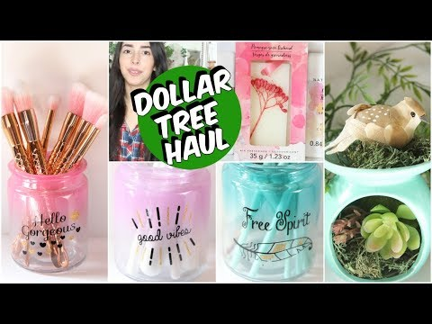 DOLLAR TREE HAUL APRIL 2018