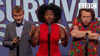 Unlikely things to hear in a survival show   Mock The Week - BBC