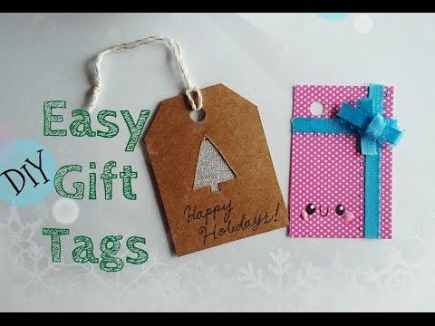 DIY Easy Gift Tags