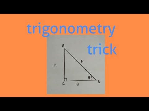 Trick to remember Trigonometry | lesson -1